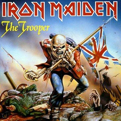 Iron Maiden THE TROOPER (Single) 1983