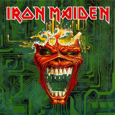 Iron Maiden VIRUS (Single) 1996