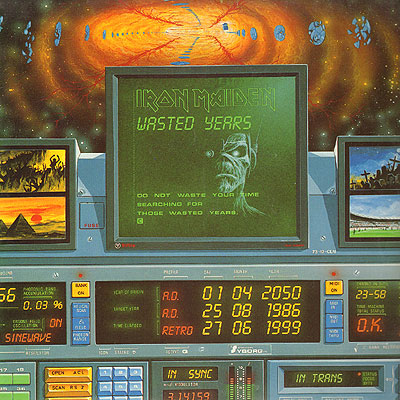 Iron Maiden WASTED YEARS (Single) 1986