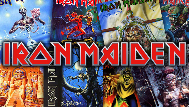 Iron Maiden Cover-Collage