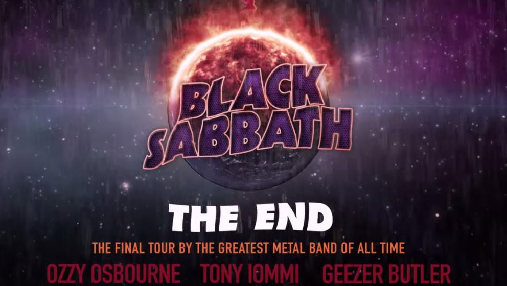 Black Sabbath THE END Tourankündigung