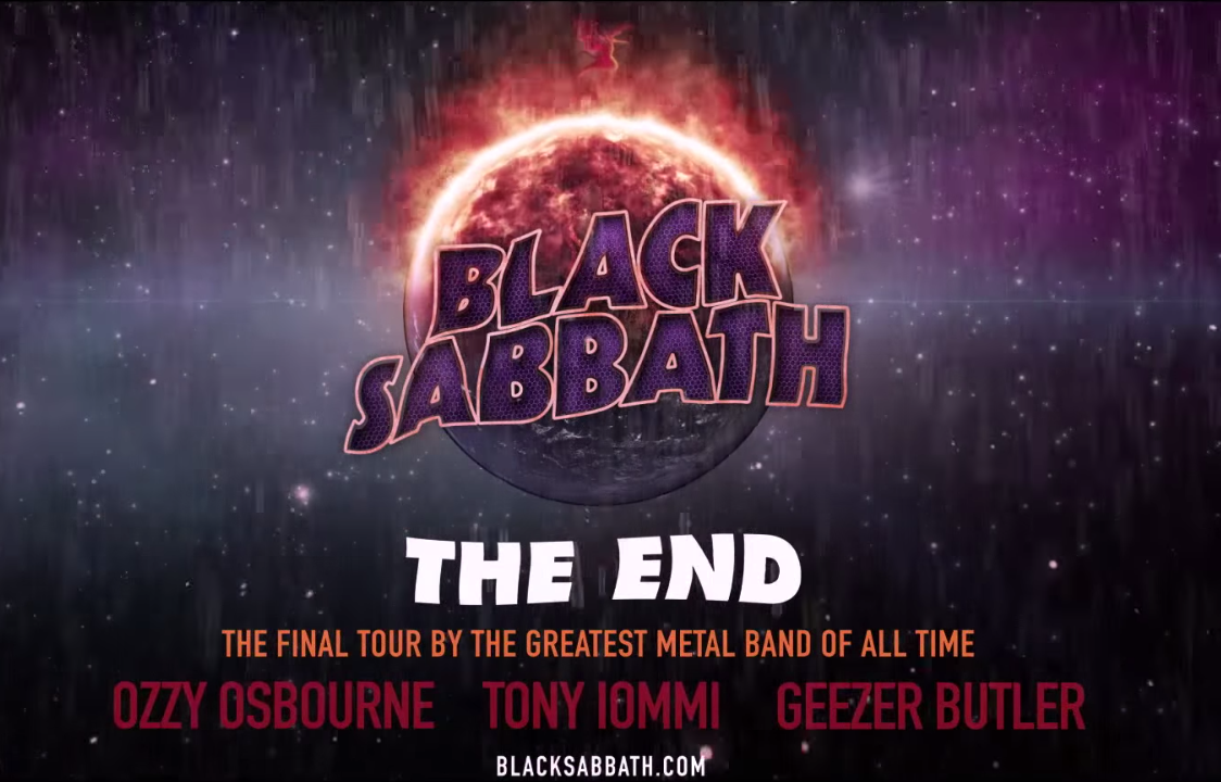 Black Sabbath THE END Tourankündigung