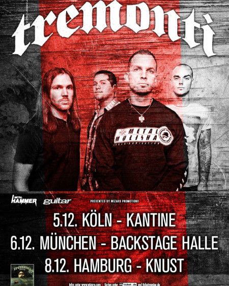 Tremonti Tourplakat