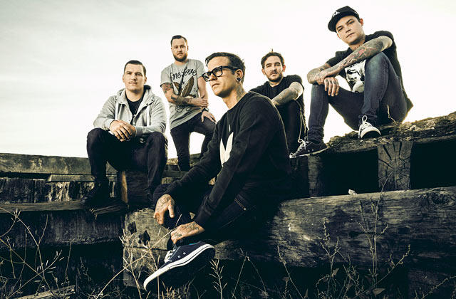 The Amity Affliction 2015