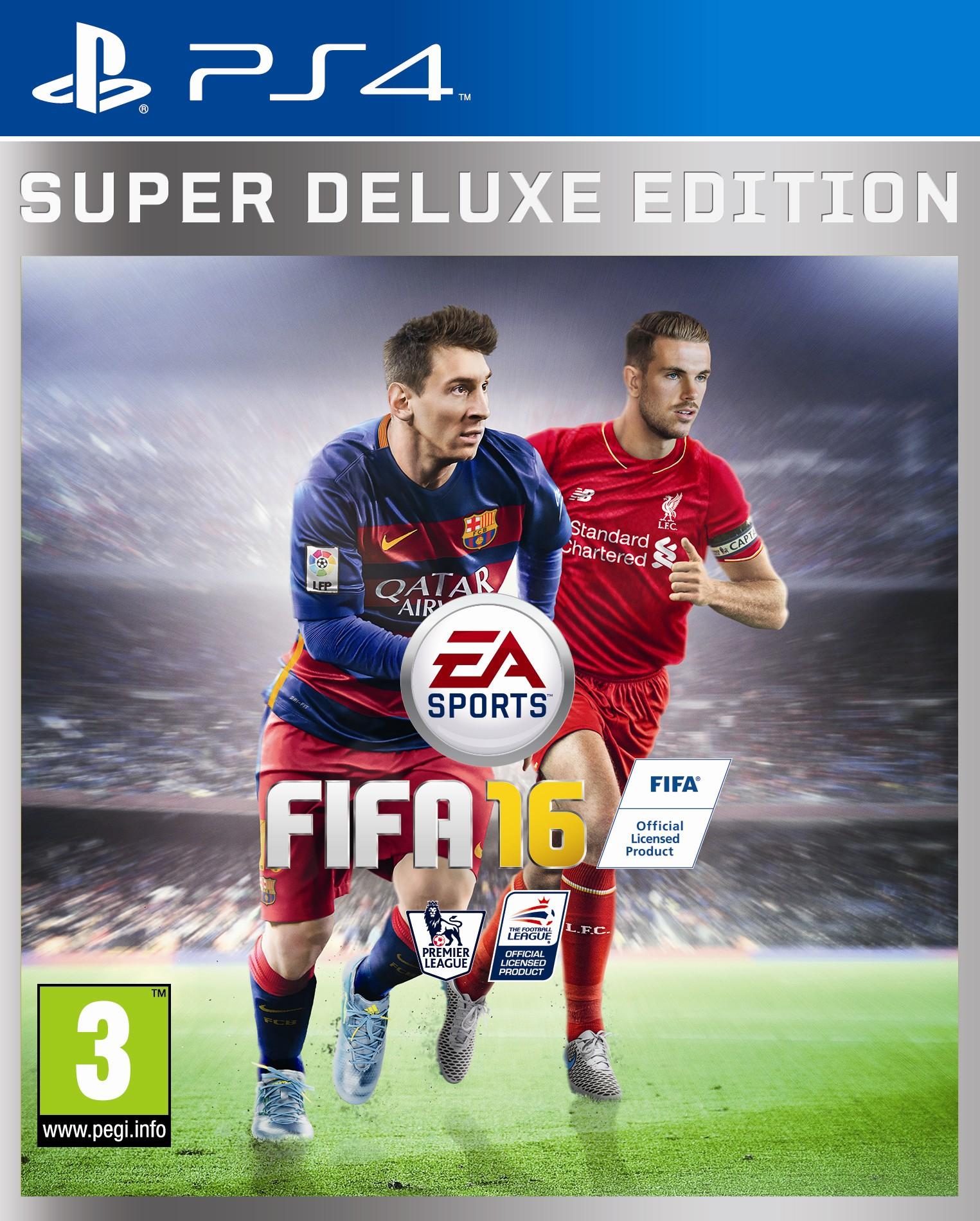 FIFA 16 Packshot