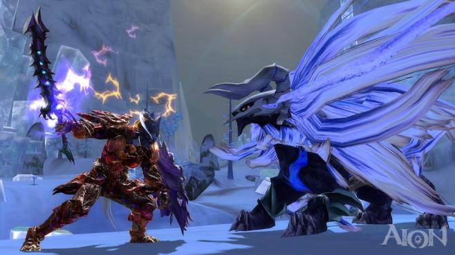 """""""Aion"""" ist ein Fantasy-Online-Rollenspiel (MMORPG), bei dem Sie im Mehrspieler-Modus gegen andere Spieler, aber auch Gegn"""