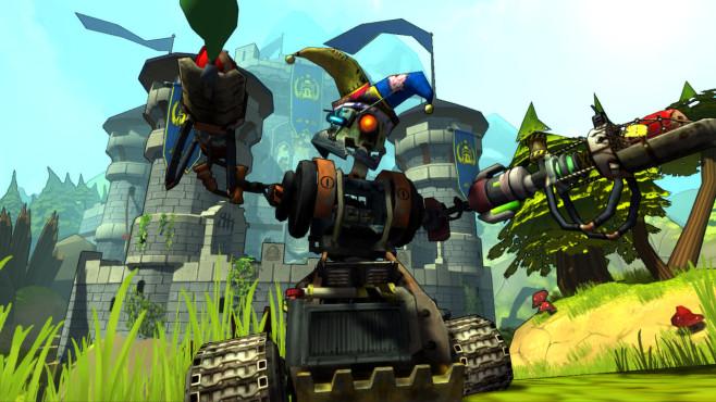 """In """"Guns and Robots"""" stellen Sie tödliche Roboter zusammen, mit denen Sie online gegen andere Mitspieler antreten. In ve"""