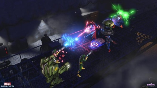 """Im Fantasy-Onlinespiel """"Marvel Heroes"""" dreht sich alles um die Superhelden und Schurken des beliebten Comic-Universums. I"""