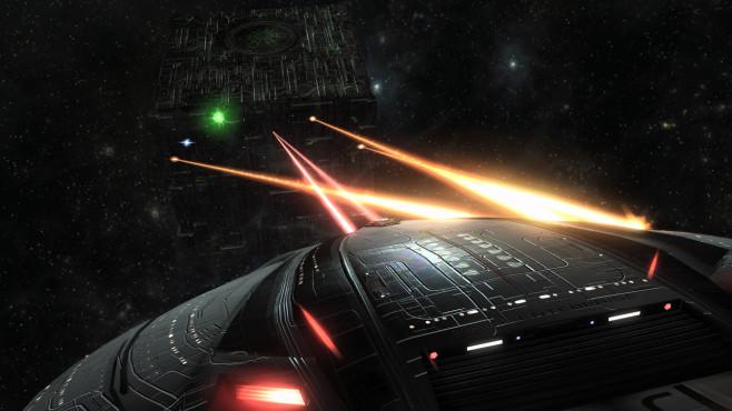 """Captain der Föderation oder kriegerischer Klingone? """"Star Trek Online"""" stellt Ihnen zu Beginn die Gretchenfrage. Danach"""