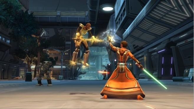 """""""Star Wars – The Old Republic"""" ist ein Free-to-Play-Titel, der keiner sein wollte. Ursprünglich war zum Zocken der Erw"""