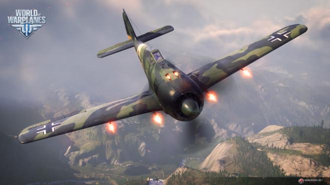 """Der Nachfolger von """"World of Tanks"""" bietet zahlreiche historische, teils legendäre Kampfflugzeuge. Von Messerschmitt-Mot"""