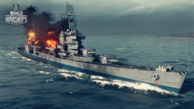 """""""World of Warships"""" ist das neue Spiel von wargaming.net, den """"World of Tanks""""-Schöpfern. So funktioniert der Titel"""