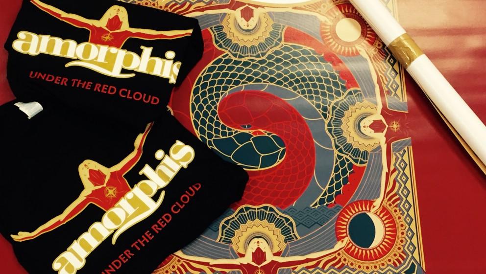 Gewinnt 2 x Amorphis Banner und 2 x Amorphis-Shirt!