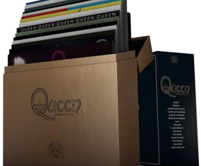 Queen COMLETE STUDIO ALBUM LP COLLECTION