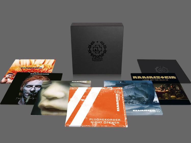 Rammstein Vinyl-Boxset XXI