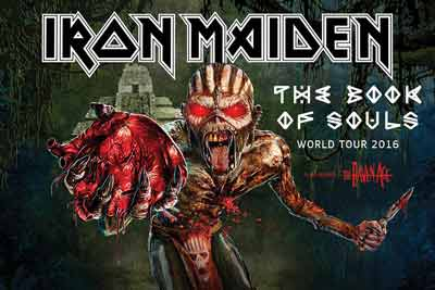 Iron Maiden Tourplakat