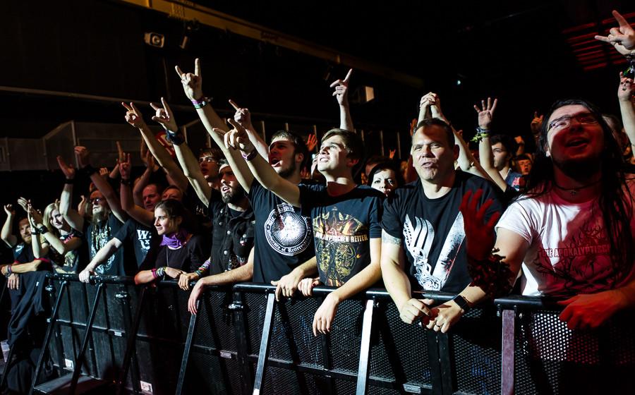 Heidenfest 2015: Die Apokalyptischen Reiter (Frankfurt Batschkapp 20.10.2015)