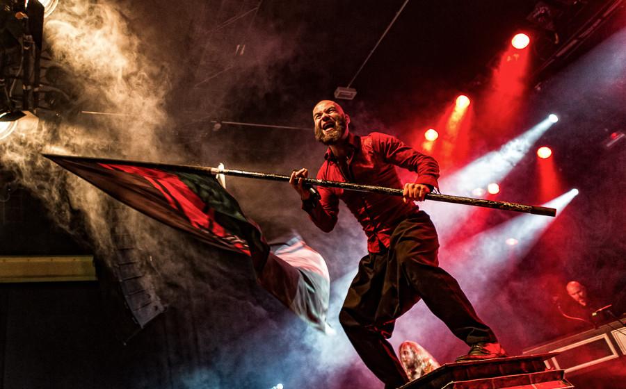 Heidenfest 2015: Die Apokalyptischen Reiter Frankfurt Batschkapp 20.10.2015