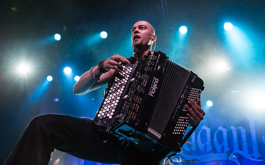 Heidenfest 2015: Korpiklaani (Frankfurt Batschkapp 20.10.2015)
