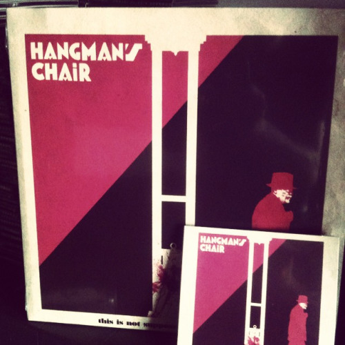 Hangman's Chair THIS IS NOT SUPPOSED TO BE POSITIVE