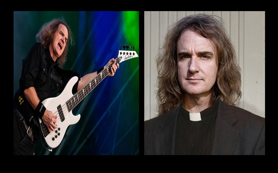 David Ellefson: Megadeth-Bassist und Pastor.