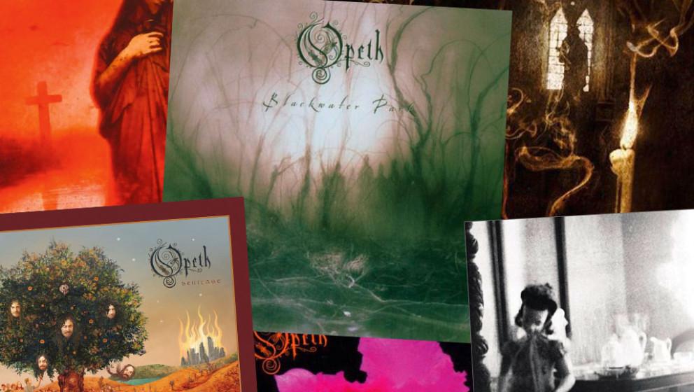 In der Galerie findet ihr alle Opeth-Alben aus 25 Jahren mit Kurzreview >>>