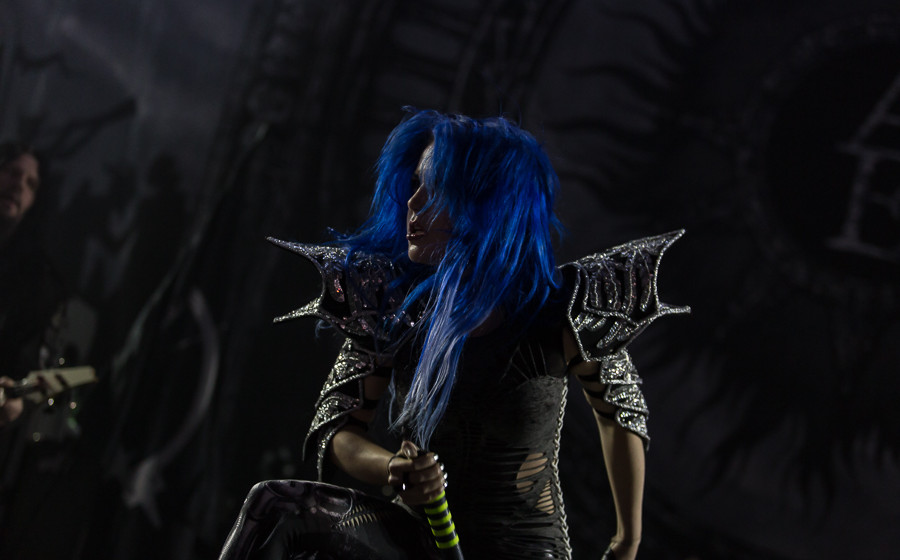 Arch Enemy 04.12.2015 Frankfurt Jahrhunderthalle