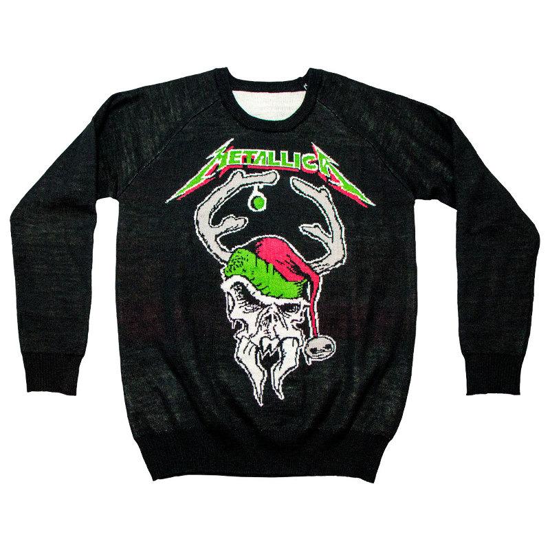 Auch Iron Maiden haben jetzt einen der hässlichen Weihnachtspullover