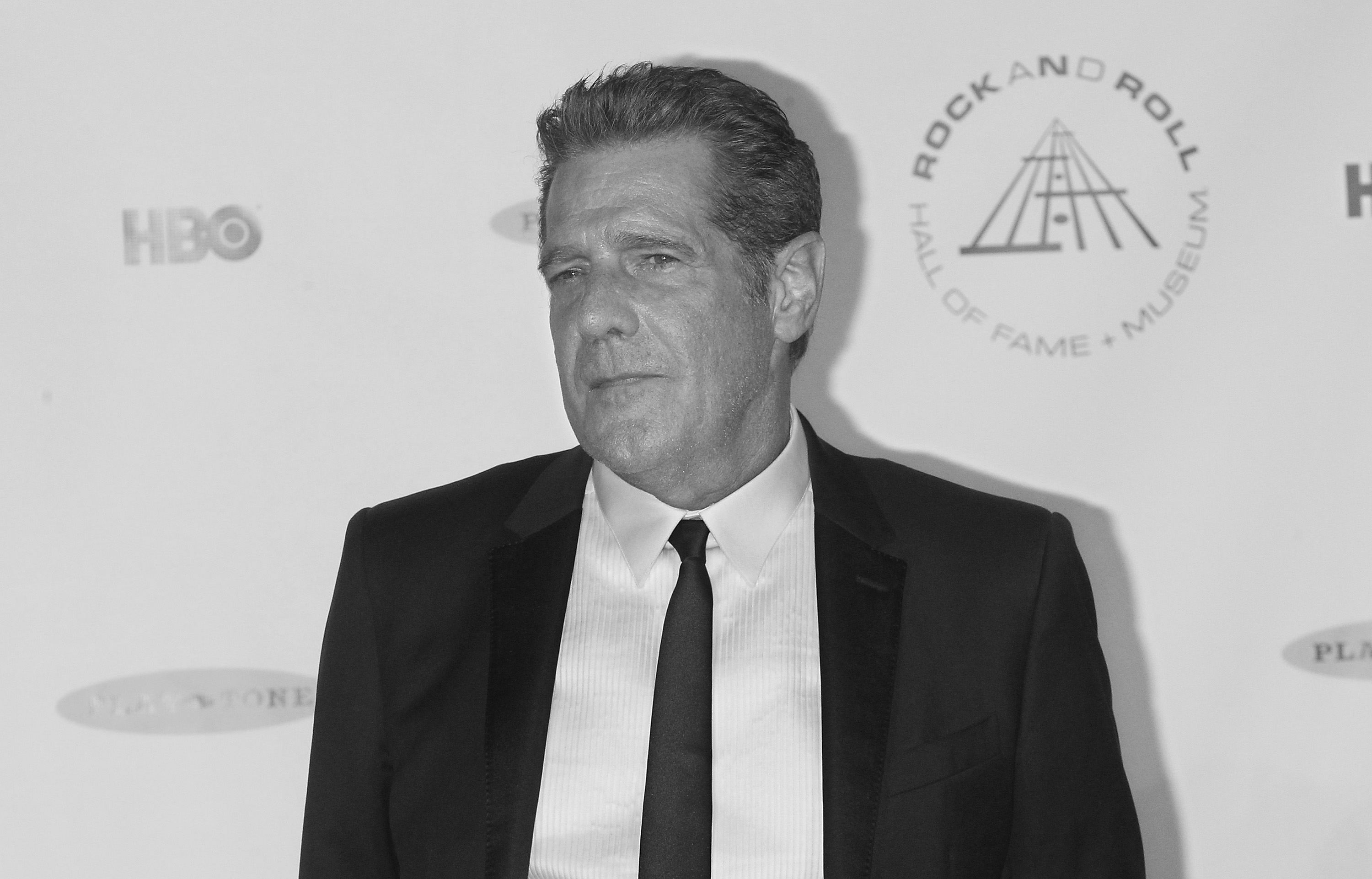 NEW YORK, NY - APRIL 10:  Musician Glenn Frey attends the 29th Annual Rock And Roll Hall Of Fame Induction Ceremony at Barcla