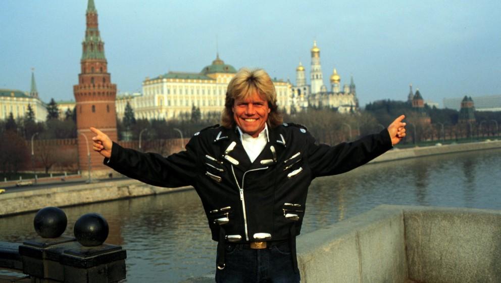 Dieter Bohlen 1989 in Moskau.