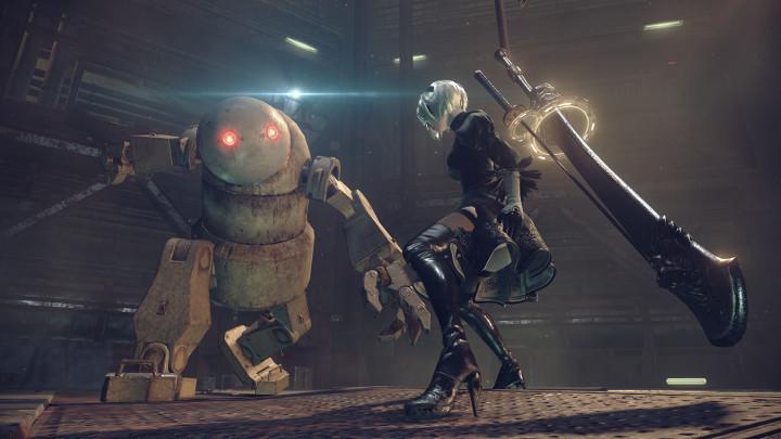 NIER AUTOMATA Rollenspiel  Platinum/Square Enix //   Das 2010 erschienene 'NieR' avancierte relativ schnell zu einer Art