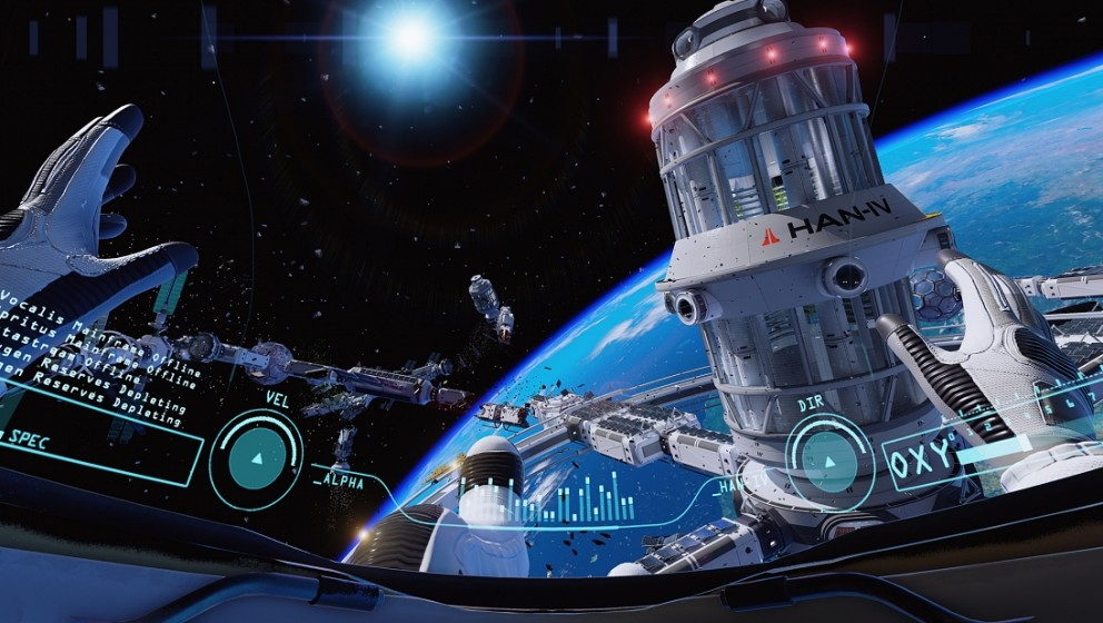 ADR1FT Survival  505 Games //   Allein und verlassen im Weltraum. Um einen herum das unendliche Schwarz der Galaxie und eine