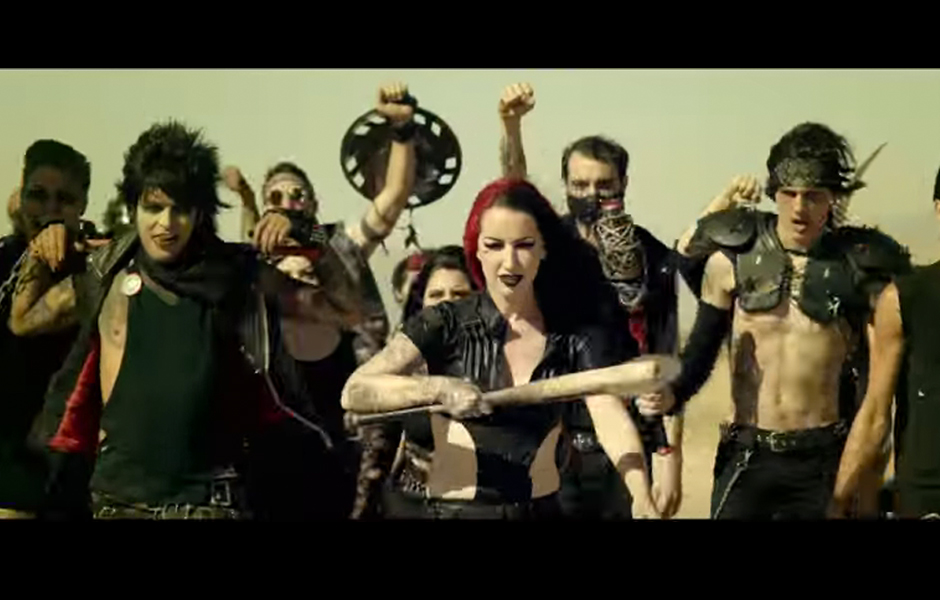 Ausschnitt aus dem neuen Video von New Years Day zu 'I'm About To Break You'
