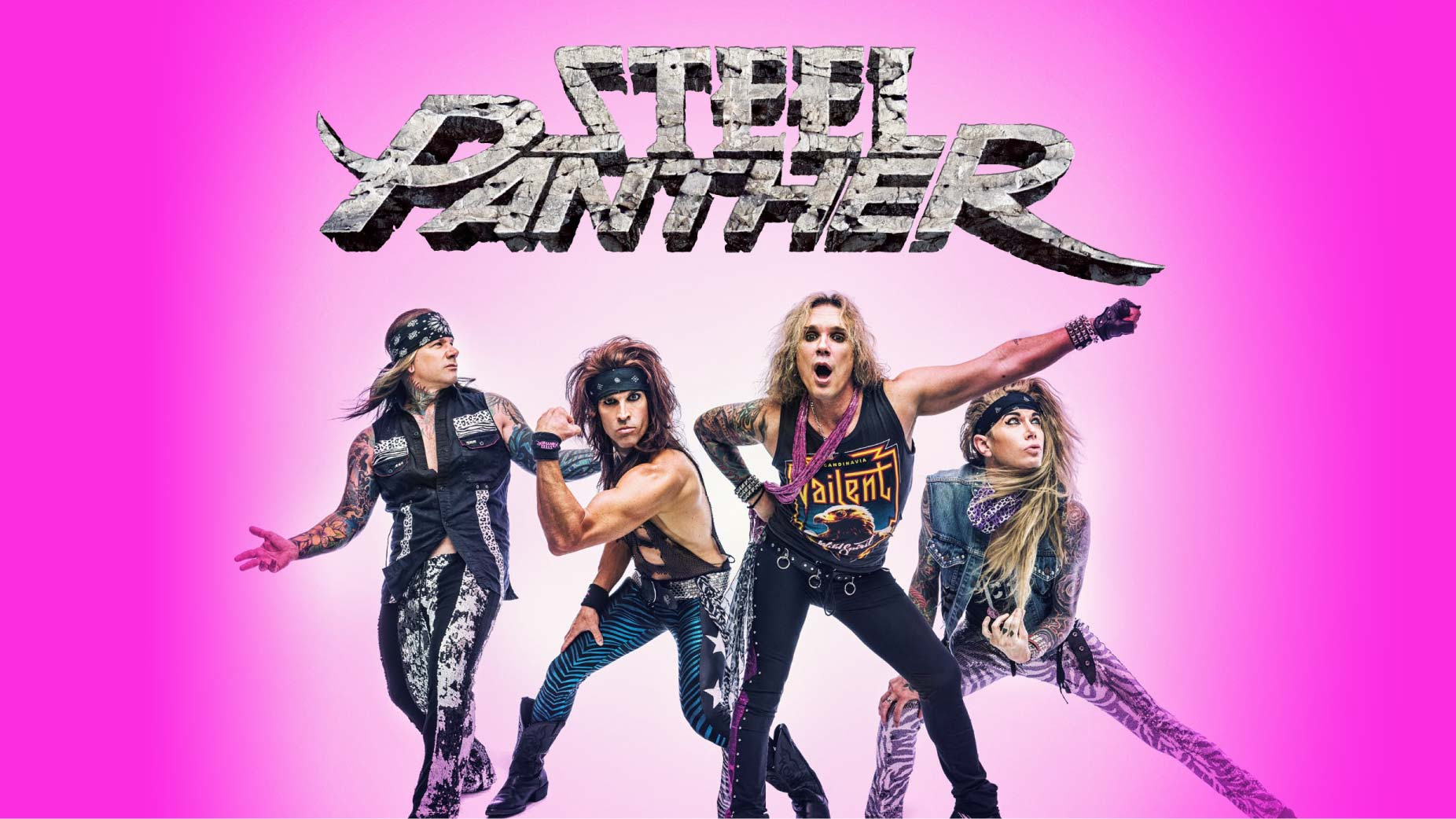 Steel Panther sind dieses Jahr auf Tour und besuchen auch Deutschland