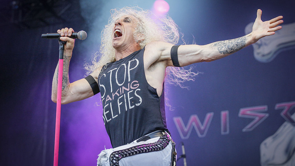 MONTREAL, QC - AUGUST 10:  Dee Snider of Twisted Sister performs on Day 2 of the Heavy Montreal Festival on August 10, 2014 i