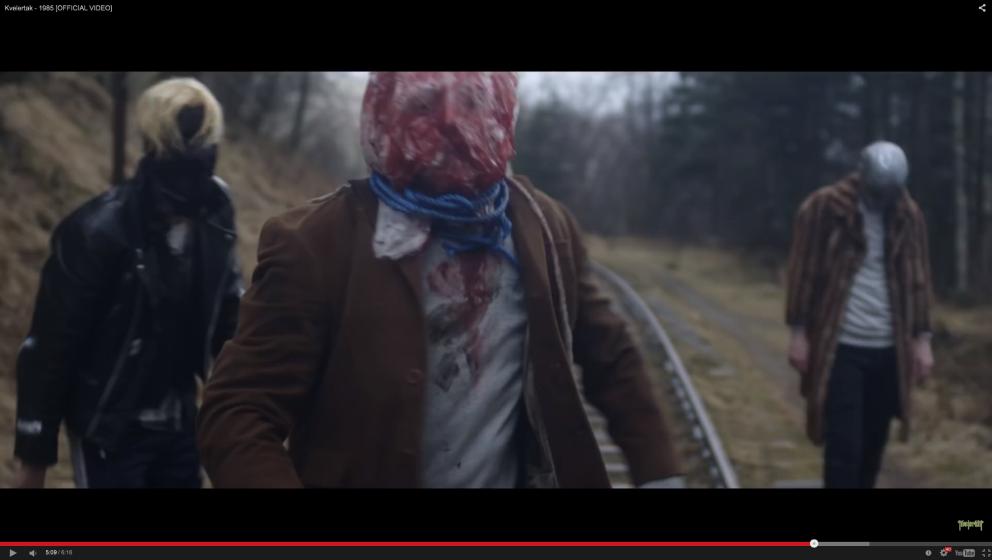 Ausschnitt aus dem Kvelertak-Video zu '1985'