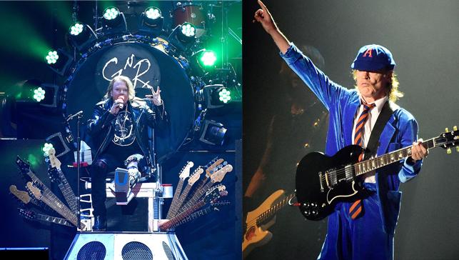 Guns N' Roses / AC/DC