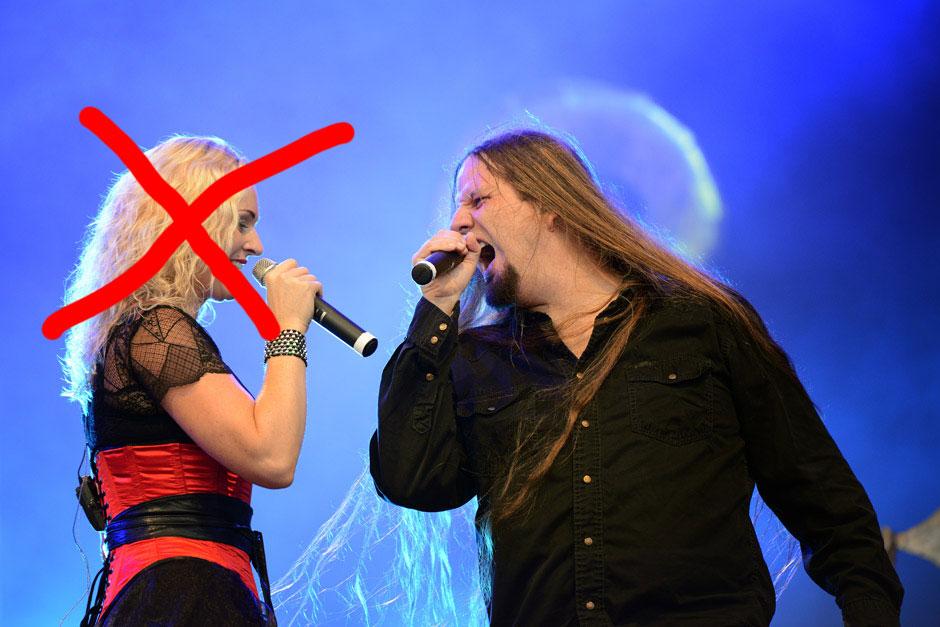 Trennung oder 'Rausschmiss'? Liv Kristine und Ehemann Alexander Krull werden nicht mehr zusammen auf der Bühne stehen.