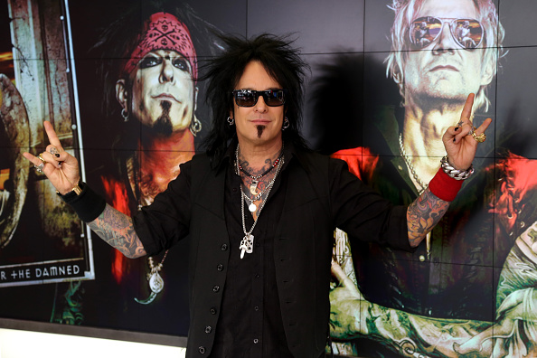 TORONTO, ON - MARCH 03:  Musician Nikki Sixx Appears On The Morning Show at The Morning Show Studios on March 3, 2016 in Toro