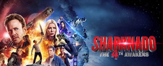 """Das Plakat von """"Sharknado 4"""""""