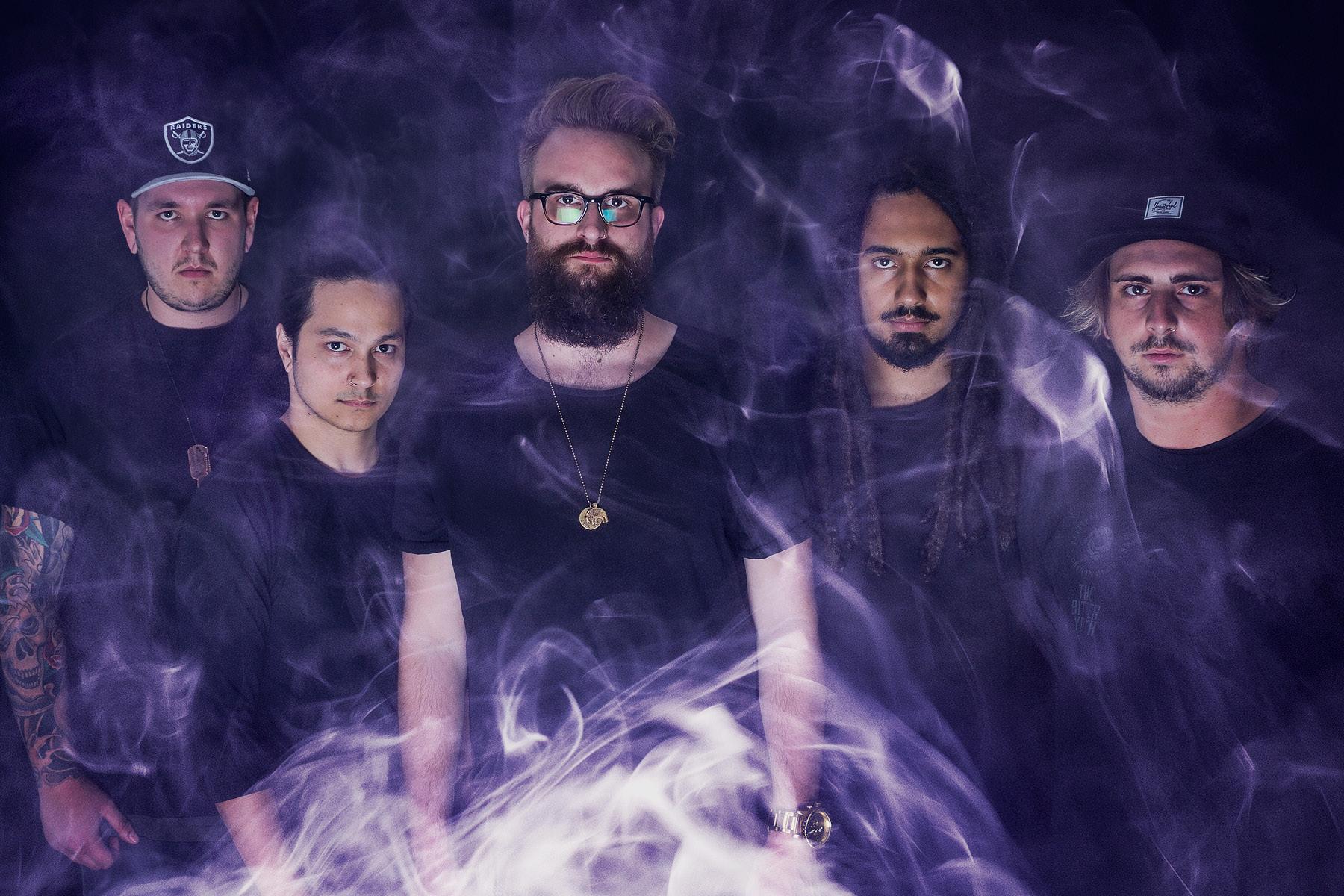 Die deutsche Metalcore-Band Pathways.