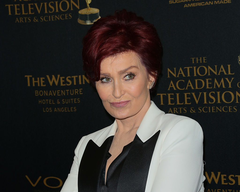 TV Personality Sharon Osbourne attends the press room for the 2016 Daytime Emmy Awards at Westin Bonaventure Hotel on May 1,