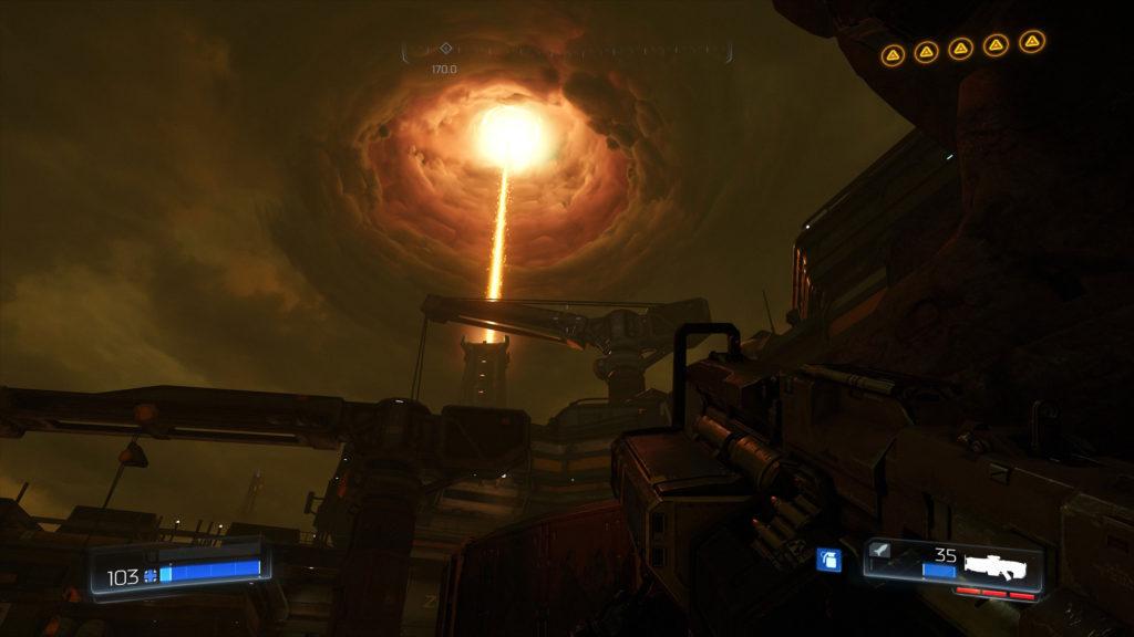 DOOM bietet nicht nur eine sehr hübsche Grafik, das Spiel ist auch auf allen Plattformen bestens optimiert (getestet wurde die PC-Version).