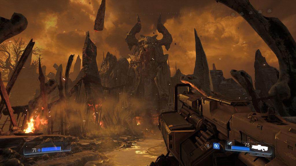 Doomguy treibt sich nicht nur auf dem Mars herum, auch ein Abstecher in die Hölle wird gemacht.