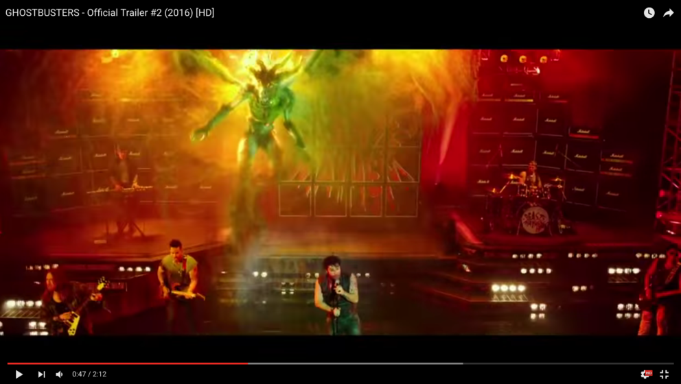 Ein Metal-Konzert im neuen 'Ghostbusters'-Film.