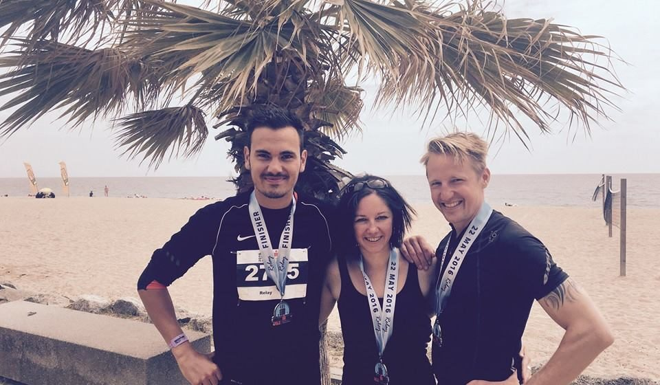 Team METAL HAMMER gewinnt den Ironman in Barcelona