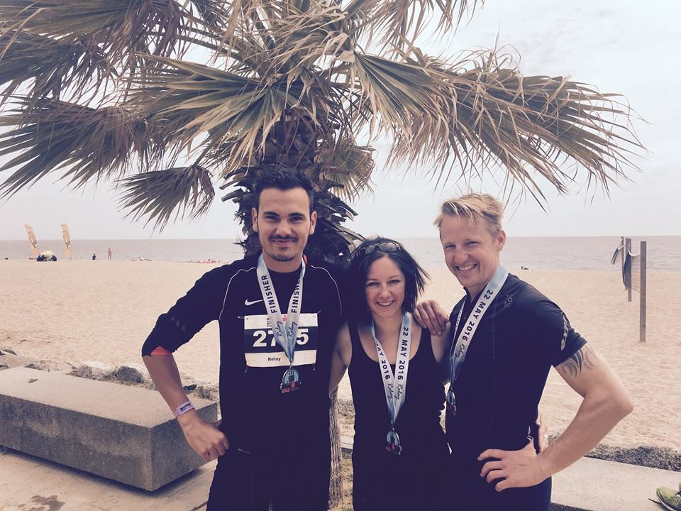 Team METAL HAMMER gewinnt den Ironman in Barcelona