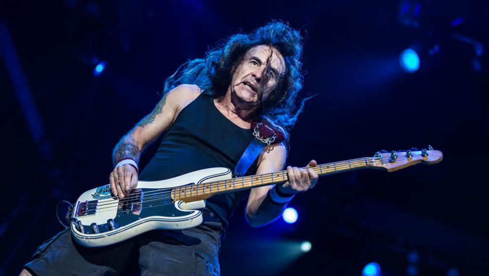 Iron Maiden-Bassist Steven Harris