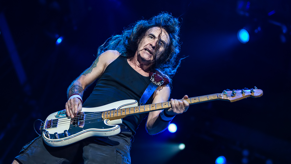 Iron Maiden-Bassist Steven Harris