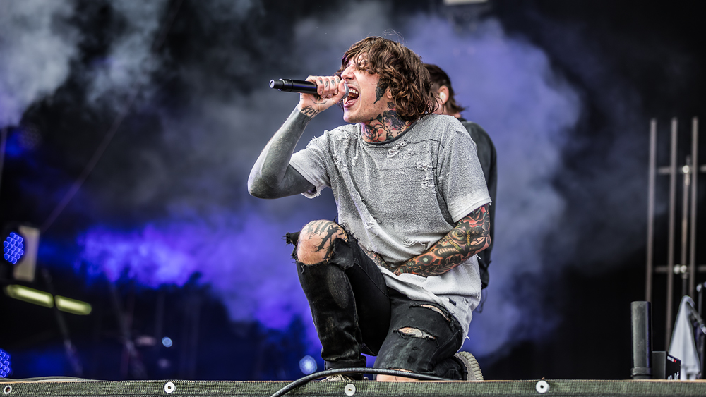 Bring Me The Horizon bei Rock im Park 2016